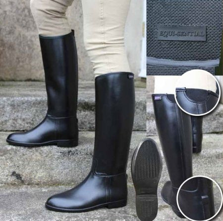 Equisential Seskin Rubber Boots - Childs