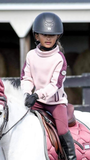 Horseware Kids Tech Luxe Midlayer - Misty Rose