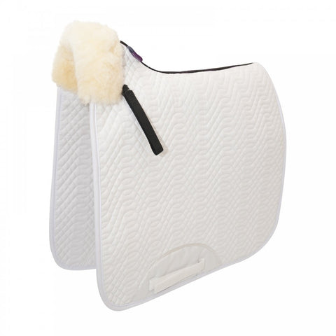 KM Elite Cotton High Wither Dressage Square Front Rolled Edge