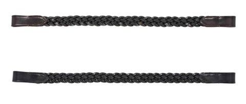 Cottage Craft Plaited Browband - 2 Colours