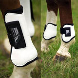 Norton Pro Tendon and Fetlock Boots Set - White