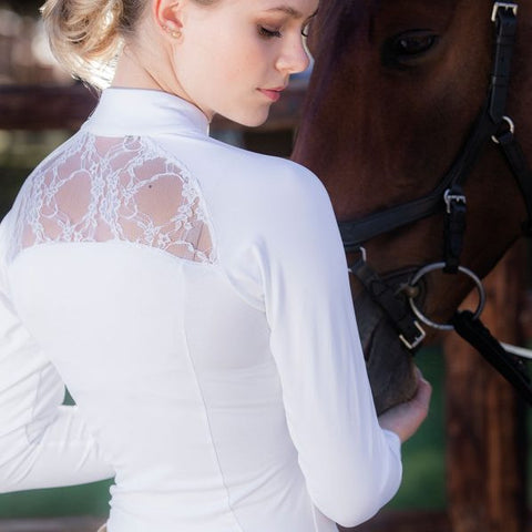 Horseware Sara Long Sleeve Competition Shirt