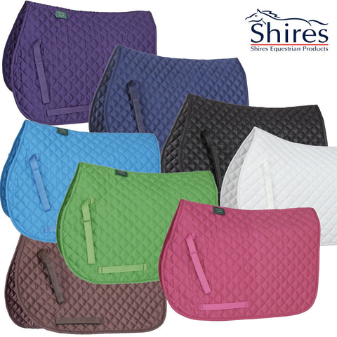 Shires Wessex Saddlecloth - 8 Colours