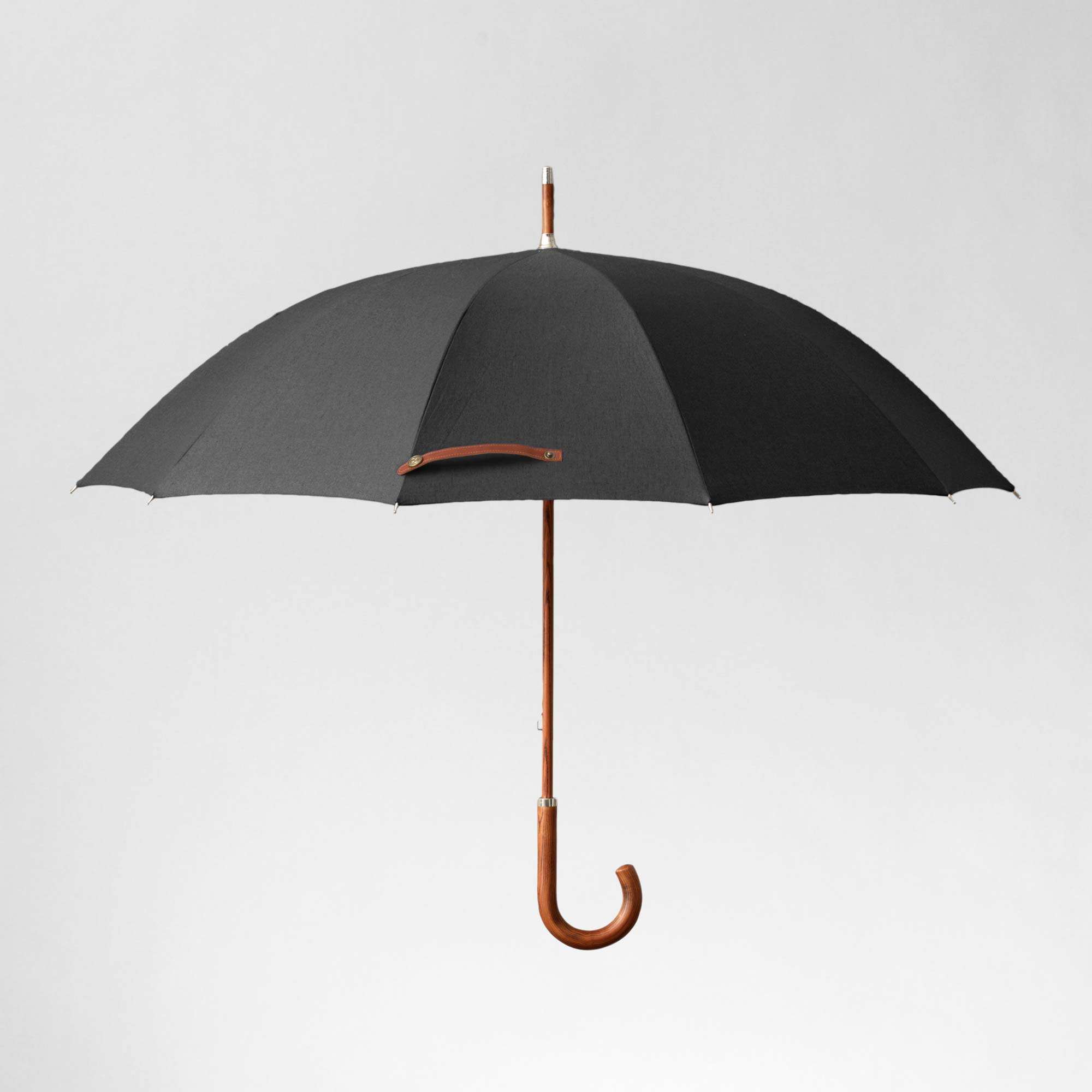 A high quality classic black umbrella