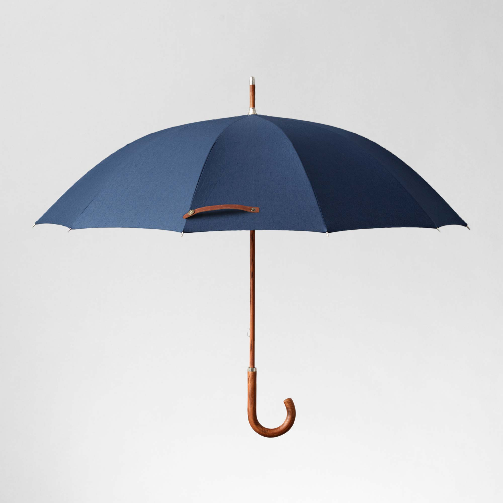 A high quality classic blue umbrella
