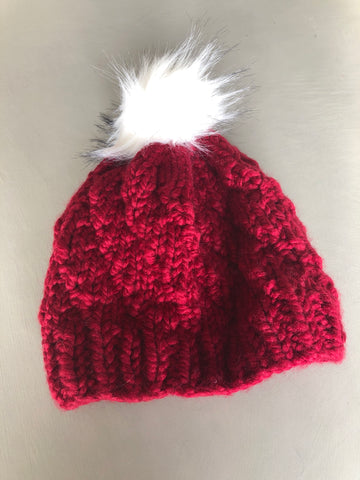 Satin Lined Winter Toque (Hat)