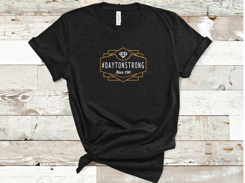#daytonstrong Art Deco- youth - Free Shipping