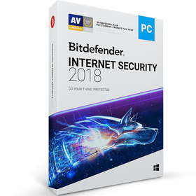 BitDefender Internet Security Download (3 Devices, 1-Year Protection)