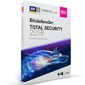 Bitdefender Total Security Download (5 Device, 1-Year Protection)