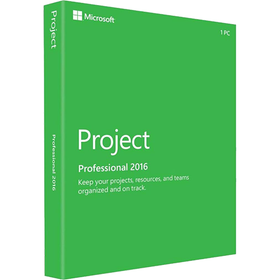 Microsoft Project Professional 2016 (1-User, Product Key Card) - Smart Finds