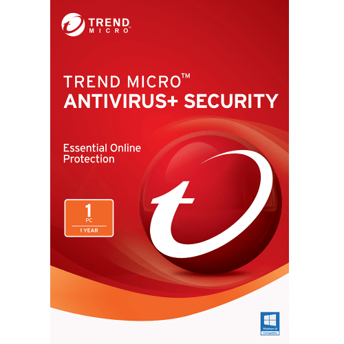 Trend Micro Antivirus+ 2017 Download  (1 PC, 1-Year Protection)