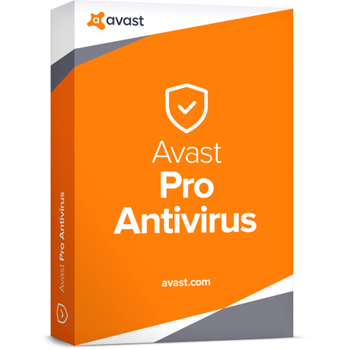 avast! Pro Antivirus Download (5 Devices, 1-Year Protection)
