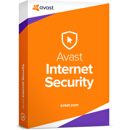avast! Internet Security Download (5 Devices, 1-Year Protection)