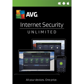 AVG Internet Security Download (Unlimited Devices, 1-Year Protection) - Smart Finds