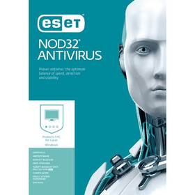 ESET NOD32 Antivirus 2017 Download (1 Device, 1-Year Protection)