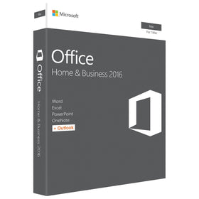 Microsoft Office 2016 Home and Business for Mac (1-User, Product Key Card) - Smart Finds