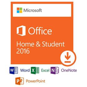 Microsoft Office 2016 Home and Student for Windows Download 1-PC
