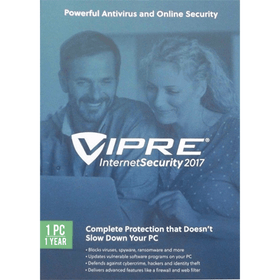 VIPRE Internet Security 2017 Download - 1-PC / 1-Year - Smart Finds
