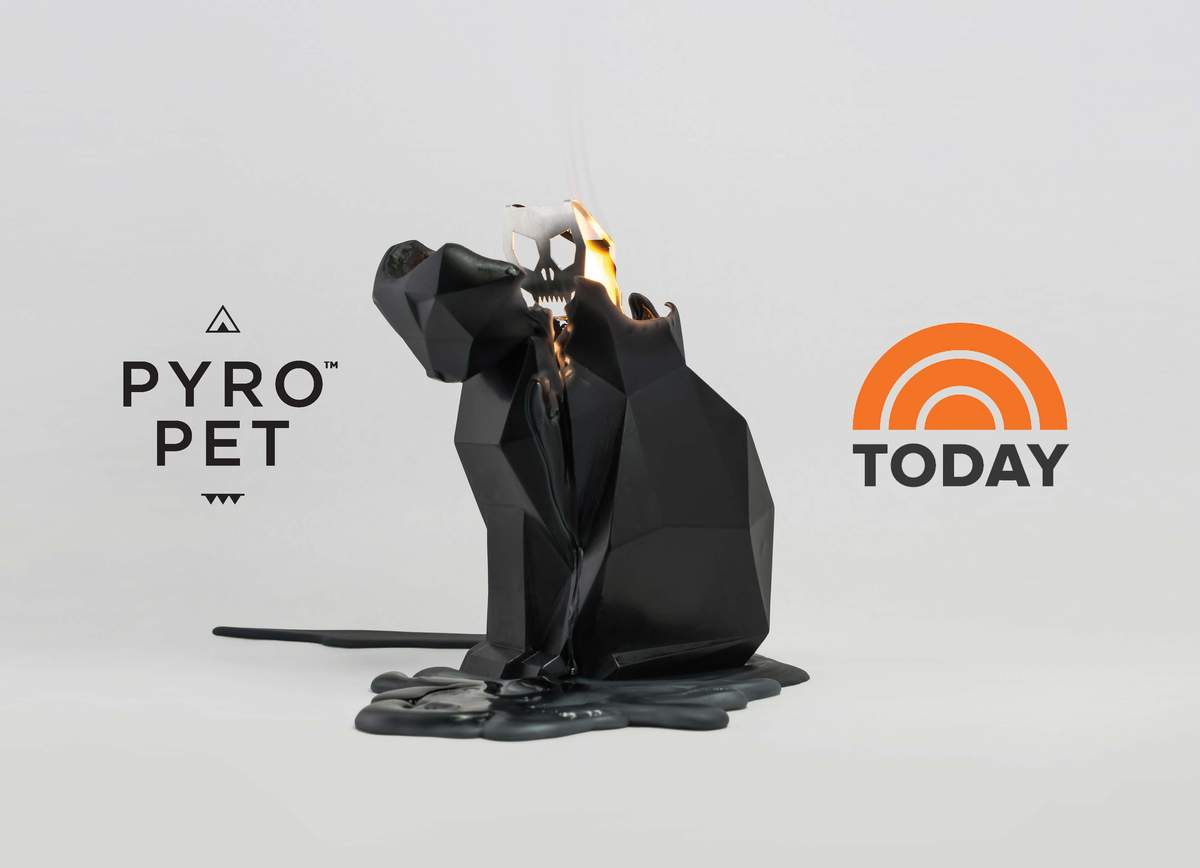 Pyropets named as must have gift for Halloween on Today Show and iHeartRadio