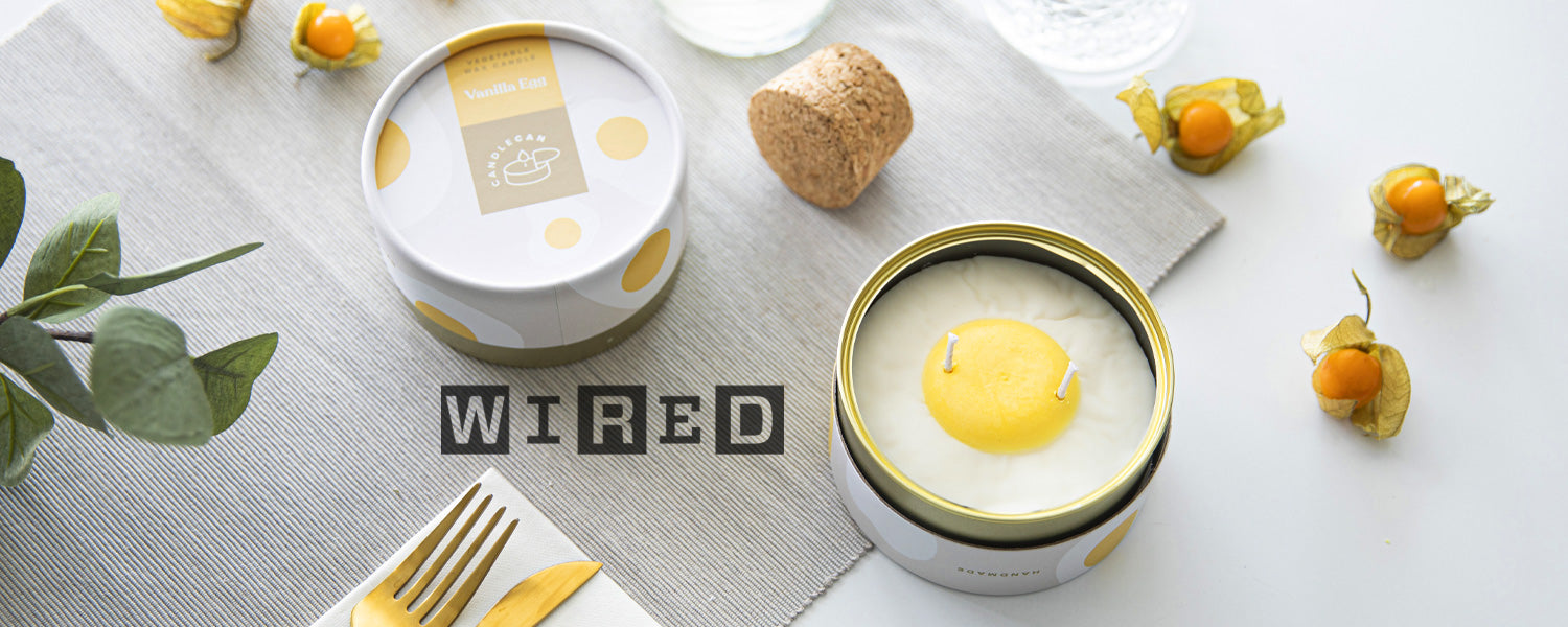 Wired.com featured CandleCan!