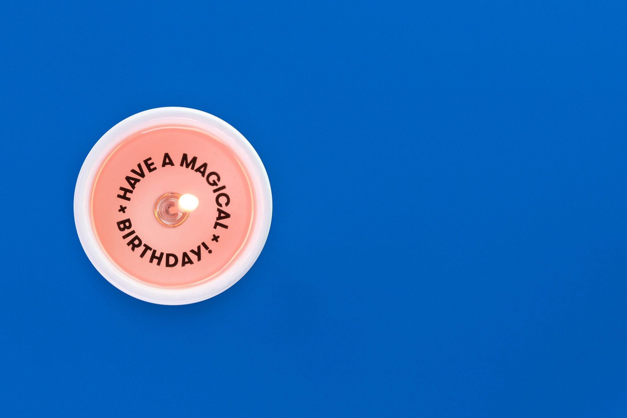 Secret message Candle - Have A Magical Birthday!