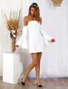 Celine Dress White