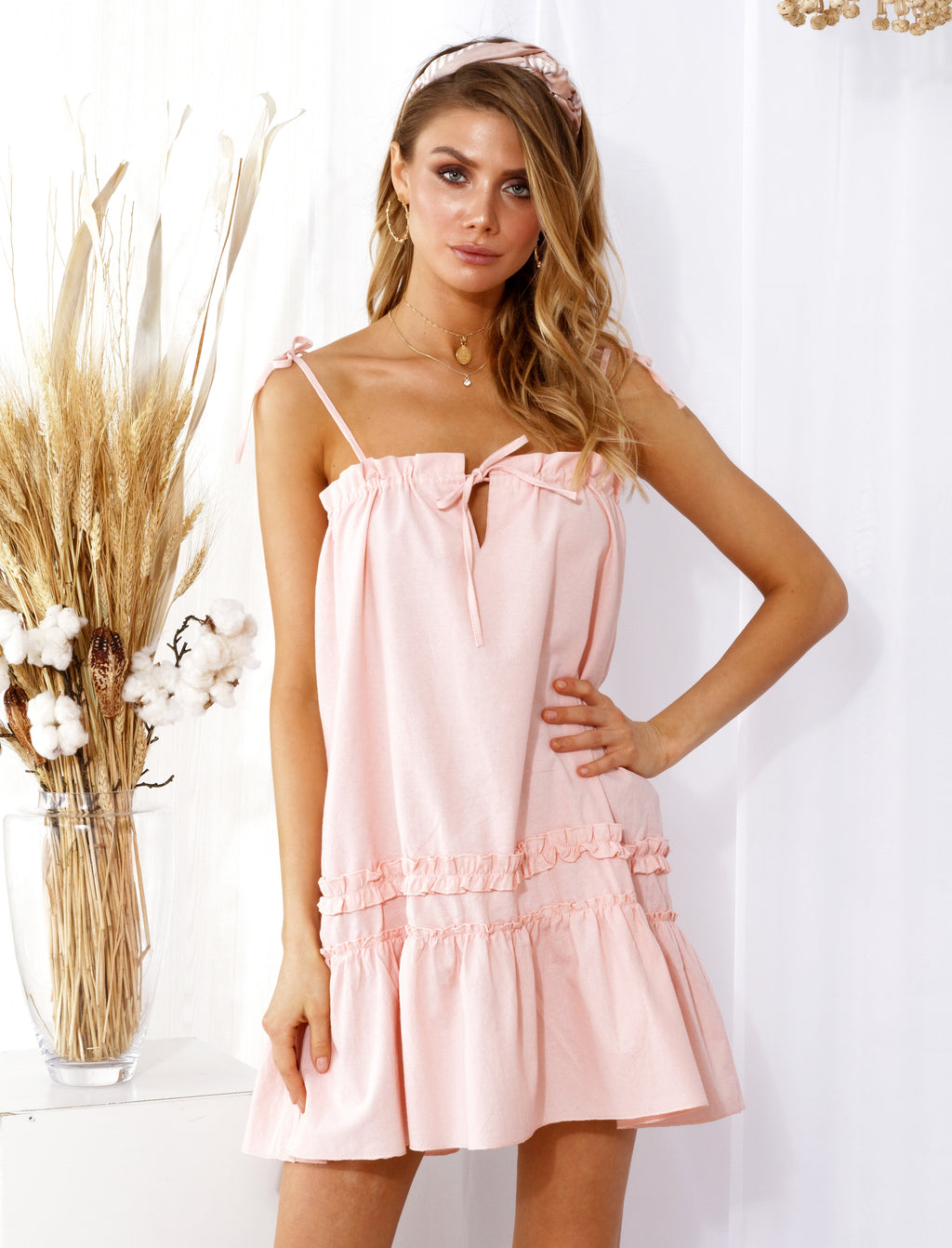 Julianna Dress Pink