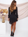 Ashley Long Sleeve Dress Black