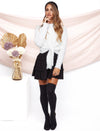 Charlotte High Waist Skirt Black