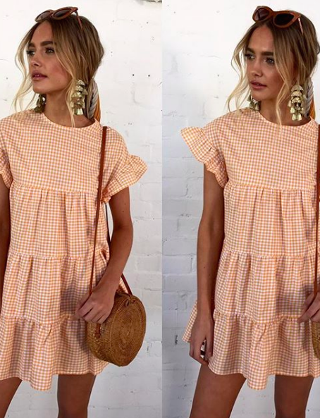 Kelly Dress Orange