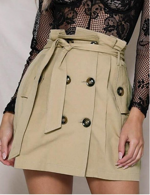 The Trench Skirt