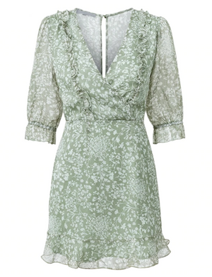 Pia Dress Green