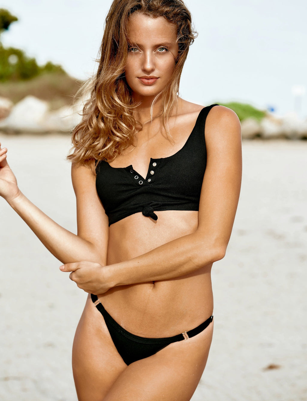 Beach Ready Bikini Black