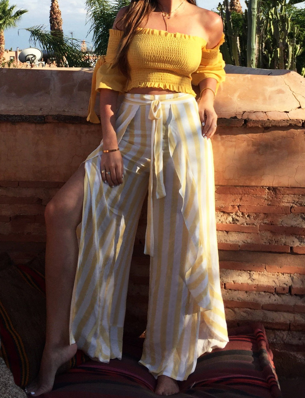 Sapir Pants Yellow