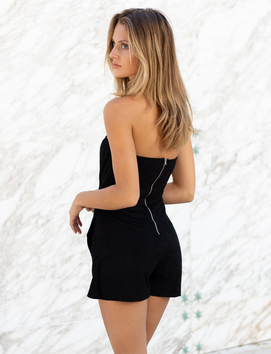 Black Fever Romper
