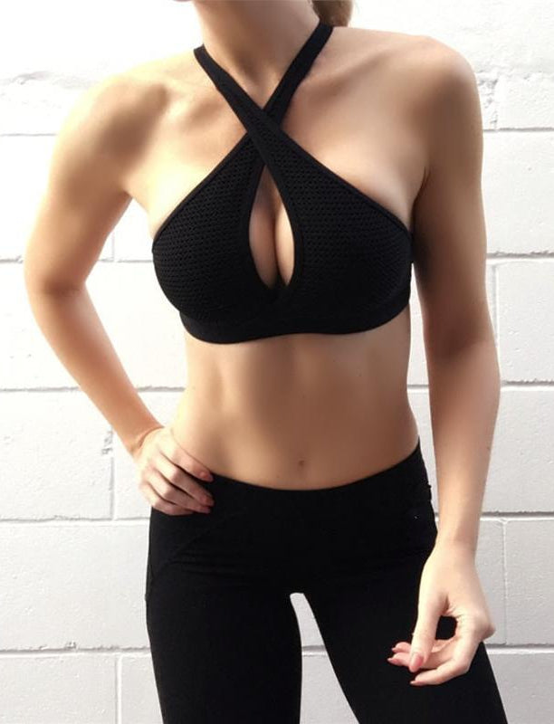 Lucy Cross Sports Bra