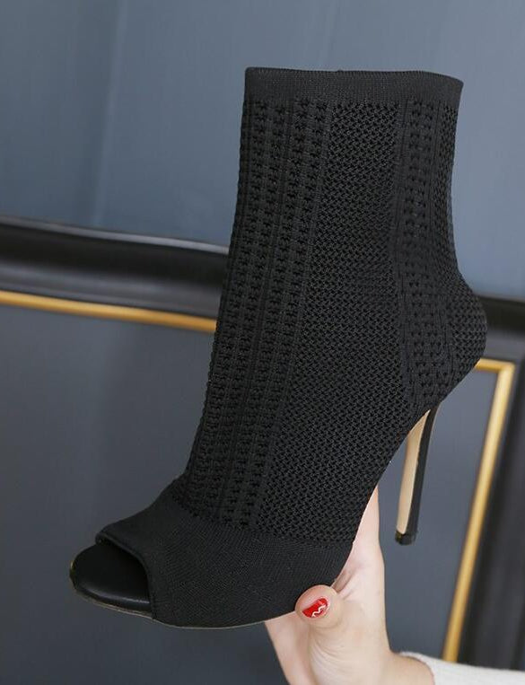 """Sock Style"" Bootie"