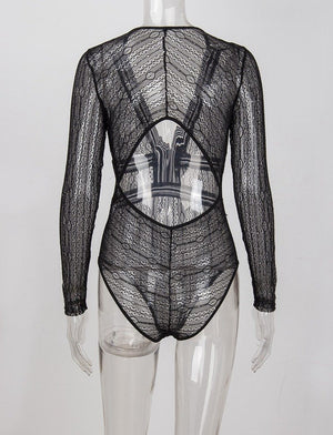 Kleo Bodysuit Black