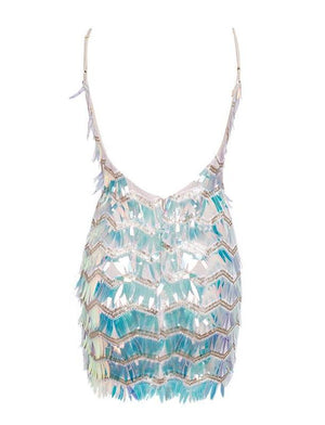 Fanny Sequin Short Party Dress