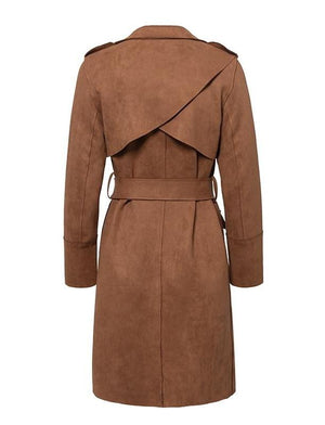 Andy Suede Trench