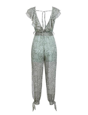 Pia Jumpsuit Green