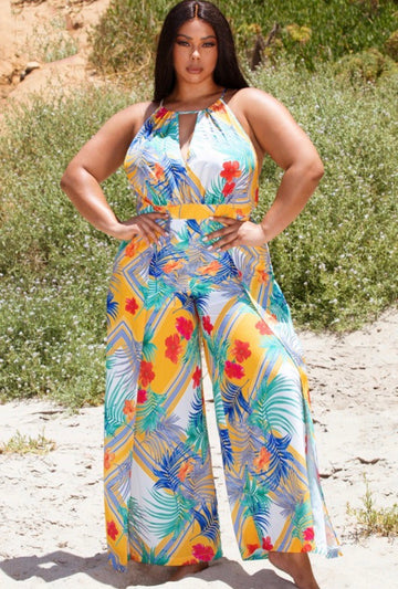 Love my curves/Tropical mix print (Migneliz choice)
