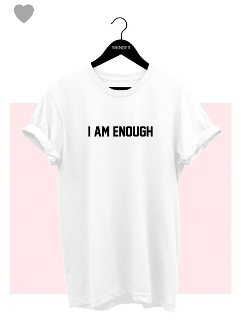 Rosa Choice/ I am enough Graphic Tee