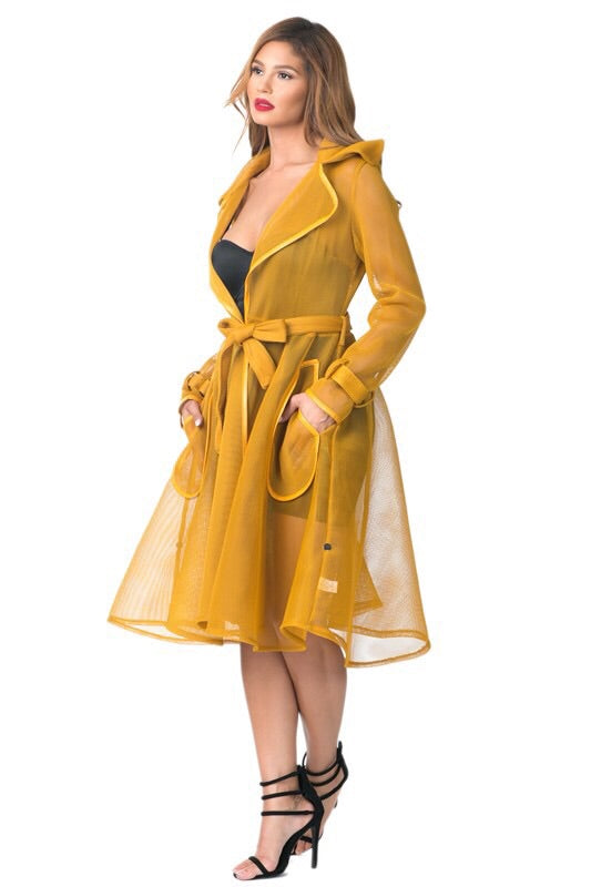 Honey Mustard Coat