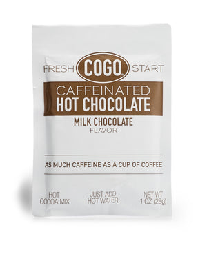 COGO Caffeinated Hot Chocolate - 50 count carton