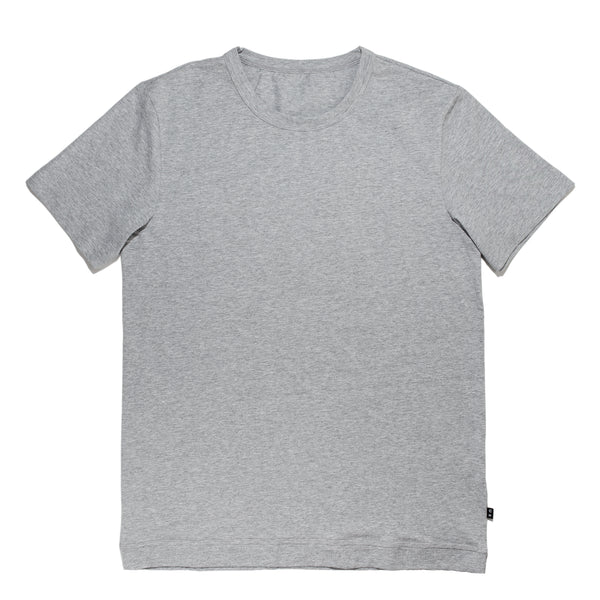 grey crew neck classic cut t-shirt