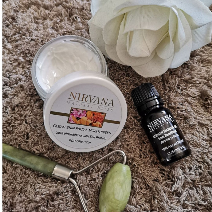 Night Time Skincare Routine with Nirvana Natural Bliss