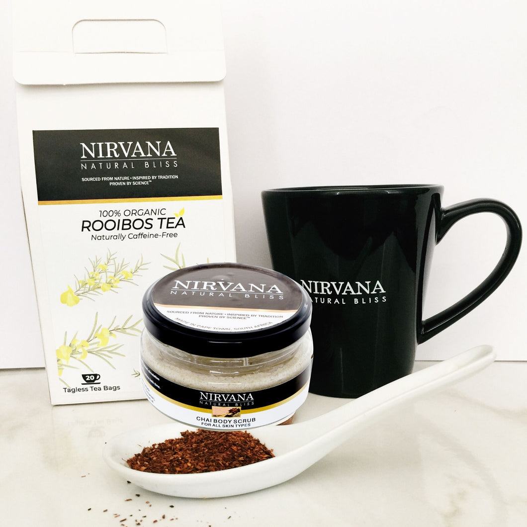 100% Organic Rooibos Tea-licious Gift Set - Nirvana Natural Bliss Luxury Vegan Skincare & Health Co.