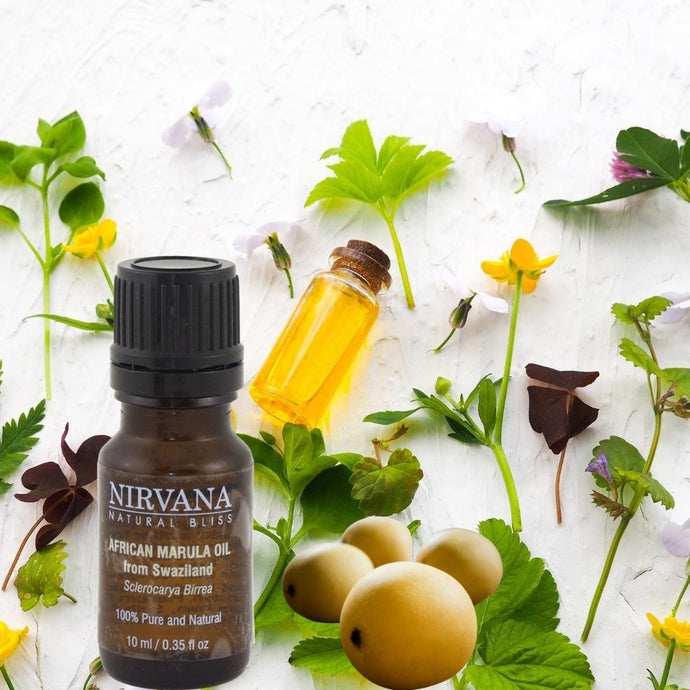 African Marula Oil from Swaziland - Nirvana Natural Bliss Luxury Vegan Skincare & Health Co.