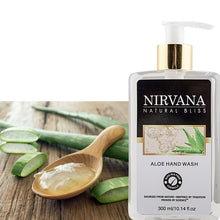 Aloe Hand Wash - Nirvana Natural Bliss Luxury Vegan Skincare & Health Co.